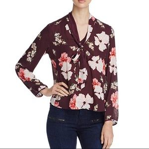 Cupcakes & Cashmere Floral Top XS